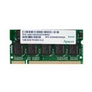 Apacer 75.963AT.G020C Memory Modules 512MB DDR-400 Indus. SODIMM 64x8 1 Rank CL3