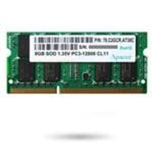 Apacer 78.A2GCR.4000C Memory Modules 2GB DDR3 SDRAM 1.35V SODIMM 800MHz CL11