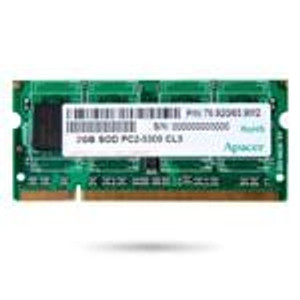 Apacer 75.073AR.G04 Memory Modules 1G DDR2 200P 667MHz SODIMM IND TEMP