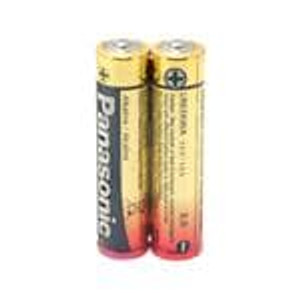 Panasonic Battery LR03XWA/B2 Consumer Battery & Photo Battery INDUSTRIAL ALK AAA 2 PACK PRICE PER BAT