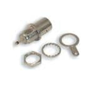 TE Connectivity 5-1634523-1 RF Connectors / Coaxial Connectors BH Skt W/TAG Nickel 50Ohm