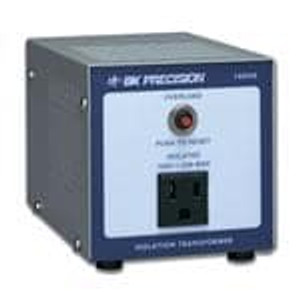 B&K Precision 1604A Bench Top Power Supplies Single Output Isolation Transformer, 110VAC input only