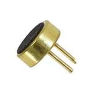 CUI Devices CMEJ-0415-42-LP Microphones microphone, 4 mm, electret condenser, omnidirectional, Long Pin, 2 Vdc, 42 dB sensitivity