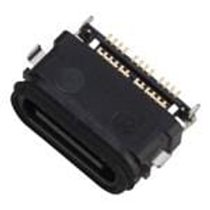 Amphenol Commercial Products 124019282112A USB Connectors USB Type C RCPT SMT Mid mnt dualrow IPX8