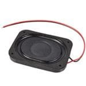 CUI Devices CDS-40304-L100 Speakers & Transducers 2W 4Ohm 400Hz WireLd 40x30mm Papr Nd-Fe-B