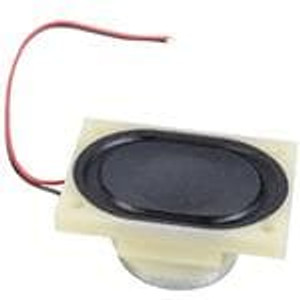 CUI Devices CDS-40288-L100 Speakers & Transducers 6W 8Ohm 650Hz WireLd 40x28.5mm Paper