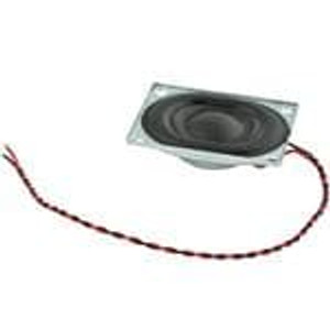 CUI Devices CDS-27204-L100 Speakers & Transducers 2W 4Ohm 850Hz WireLd 27x20mm clth Nd-Fe-B