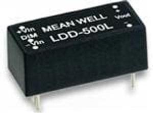 MEAN WELL LDD-500L LED Power Supplies 9-36Vin 2-32Vout 500mA LED Driver