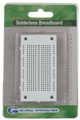 Global Specialties EXP-350E PCBs & Breadboards 3.25X1.75 270 Tie Points 54 Term Clips