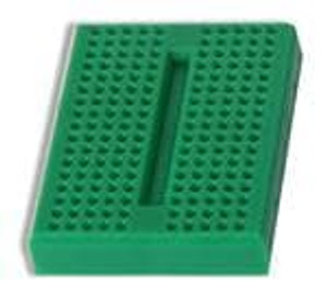 Global Specialties GS-170-5 PCBs & Breadboards MINI BREADBOARDS GREEN