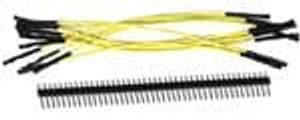 "SchmartBoard 920-0006-01 Jumper Wires 5"" Jumpers(Qty 10) with Headers"
