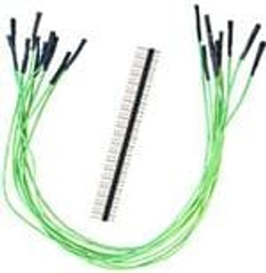 "SchmartBoard 920-0020-01 Jumper Wires 12"" JUMPERS QTY 10 AND 20 HEADERS"
