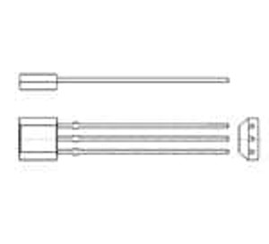 Diodes Incorporated AH180-PG-B Board Mount Hall Effect / Magnetic Sensors HALL IC SWITCH 2.5V-5.5V