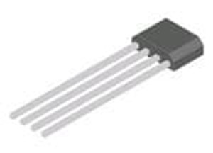Diodes Incorporated AH276Z4-CG1 Board Mount Hall Effect / Magnetic Sensors Complementary Output Hall Effect Latch