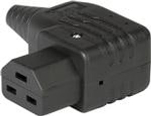 Schurter 1659.0000 AC Power Plugs & Receptacles Black 16mm 3x2.5mm2 /3x10 AWG