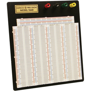 Elenco 9440 Breadboard 504 Separate 5 Point Terminals