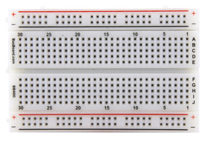 Busboard BB400 - Grid reference numbers every 5 columns and grid reference lettering in all caps, consistent across our BreadBoard line to provide clear and easy to read hole legends. All letters and numbers are horizontal for easy reading.