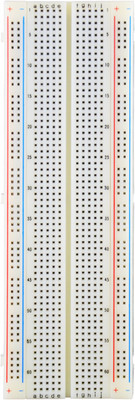 Elenco 9830, 830 Tie Points Breadboard with Independent Common Bus Lines