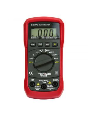 TekPower TP8233E Digital Multimeter AC DC Voltage Current Temperature Resistance Tester Ohmmeter