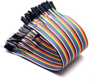Jumper Wire Set 40x20cm Male to Female 28AWG 10 colors