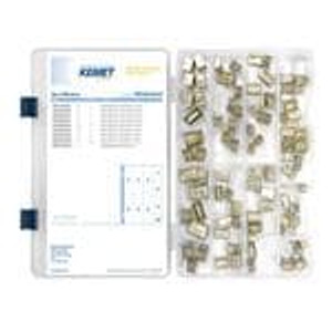 KEMET PPR ENG KIT 03 Capacitor Kits 10 pcs 10 values Class X2 Paper Kit