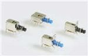 E-Switch LC2255EENP Pushbutton Switches 300mA/30VDC PC-Pin Latching NonShorting
