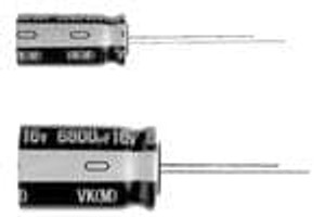 Nichicon UVK1H680MED Aluminum Electrolytic Capacitors - Radial Leaded 50volts 68uF 6.3x11 20% 2.5LS