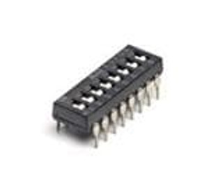 TE Connectivity / Alcoswitch ADF04SATTR04 DIP Switches / SIP Switches FLUSH 100mA DIP