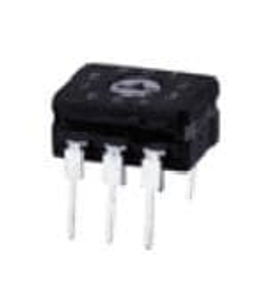 Omron Electronics A6CV-16R DIP Switches / SIP Switches BCD HEX SIDE ACT