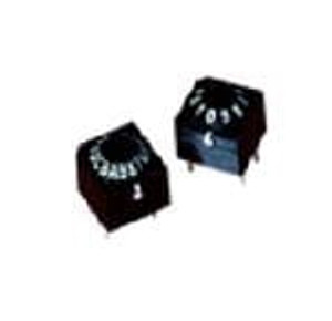 Omron Electronics A6A-10CW DIP Switches / SIP Switches 10 POS BCD 1-2-4-8 Complement Flat