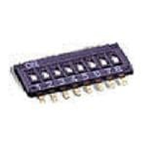 Omron Electronics A6H-0102-P DIP Switches / SIP Switches DIP SWITCH