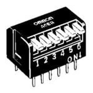 Omron Electronics A6ER-9104 DIP Switches / SIP Switches DIP SWITCH