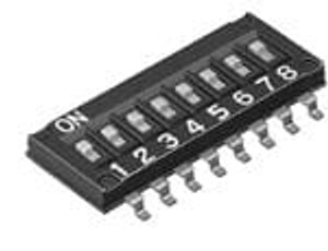 Omron Electronics A6H-0101-P DIP Switches / SIP Switches 1/2 Pitch 10 POLES