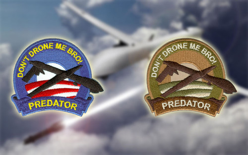 Don't Drone Me Bro - Morale Patches