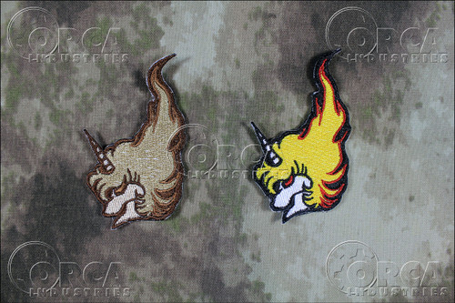 Area 88 - Unicorn Unit - Morale Patches