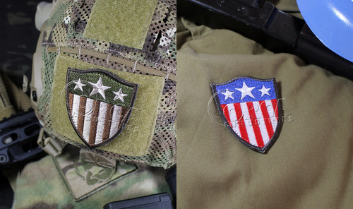 CA Style - Heater Shield - Morale Patches