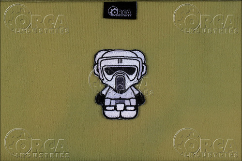 Kuma Korps - Scout Trooper - Morale Patch - White