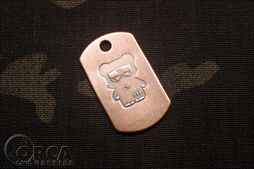 Steel Flame - Kuma Korps - Ninja - Copper Tag