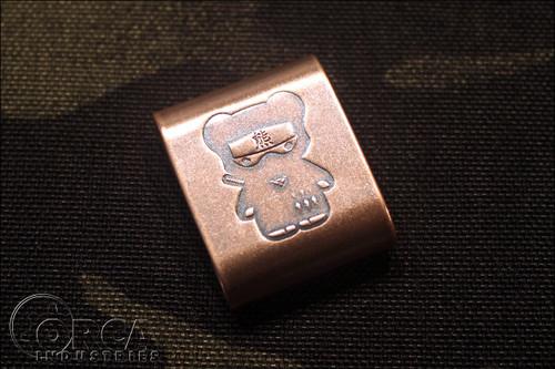Steel Flame - Kuma Korps - Ninja - MOLLE Clip - Copper