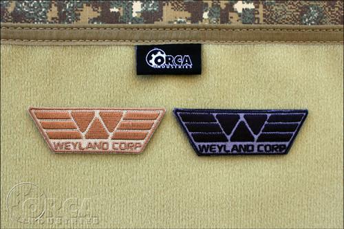 Weyland Corporation Morale Patch