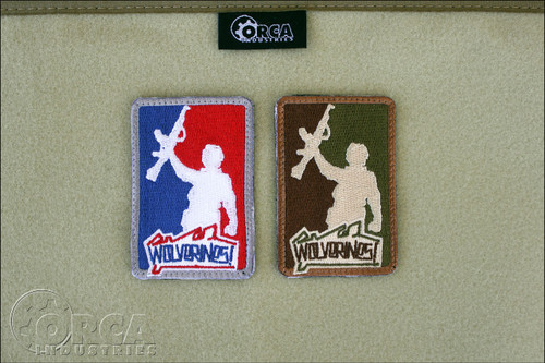 Wolverines - Major League - Morale Patches