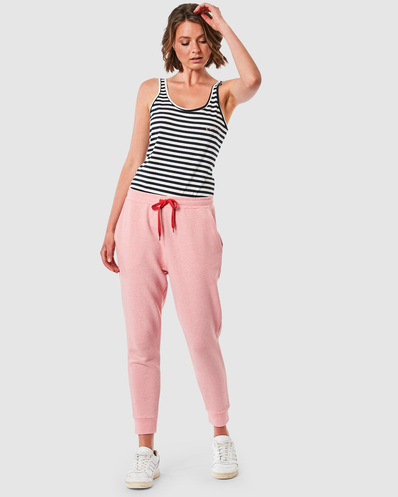 Elwood Womens Alice Track Pants Pink