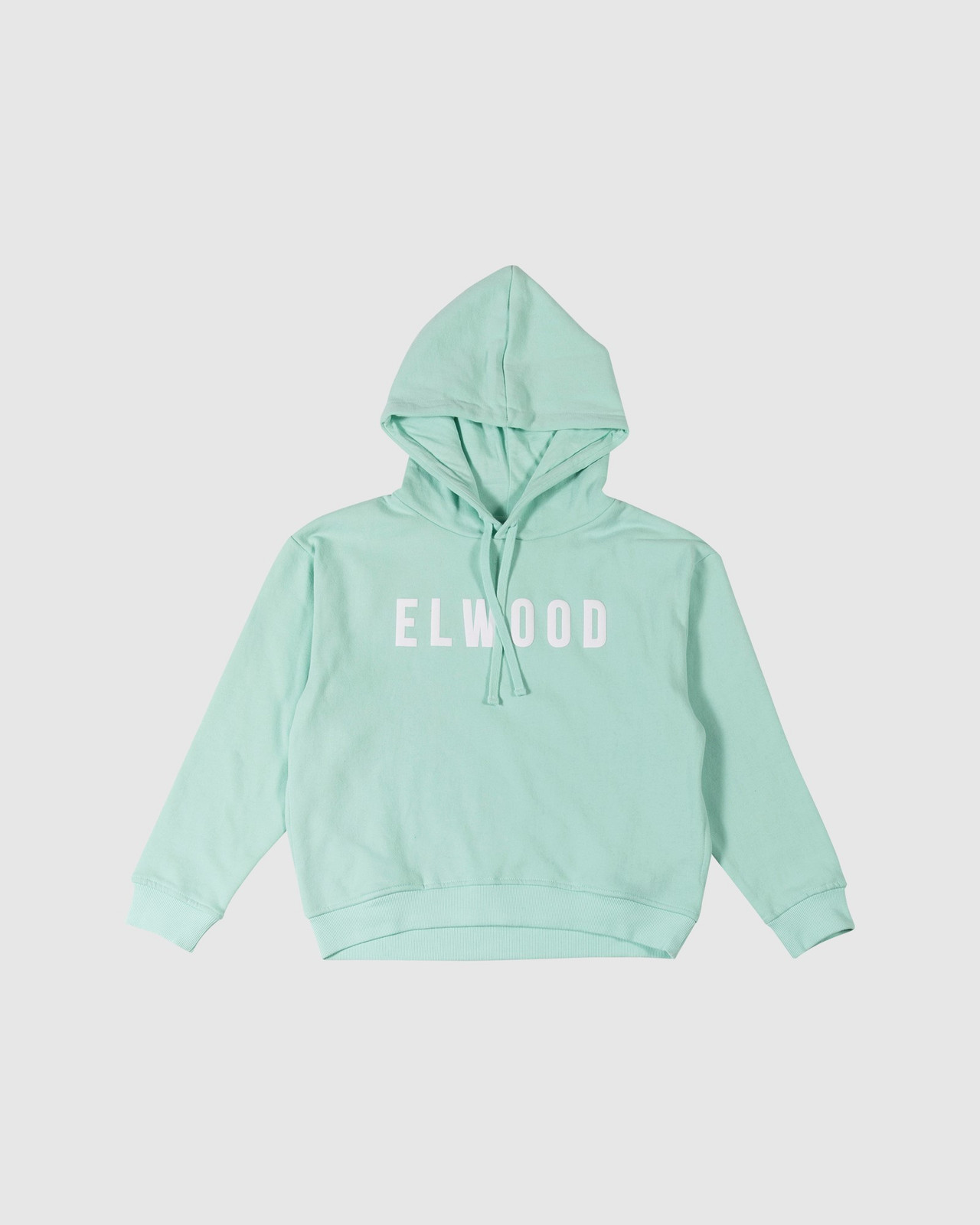 Elwood Girls TEENS Huff N Puff Hoodie Green