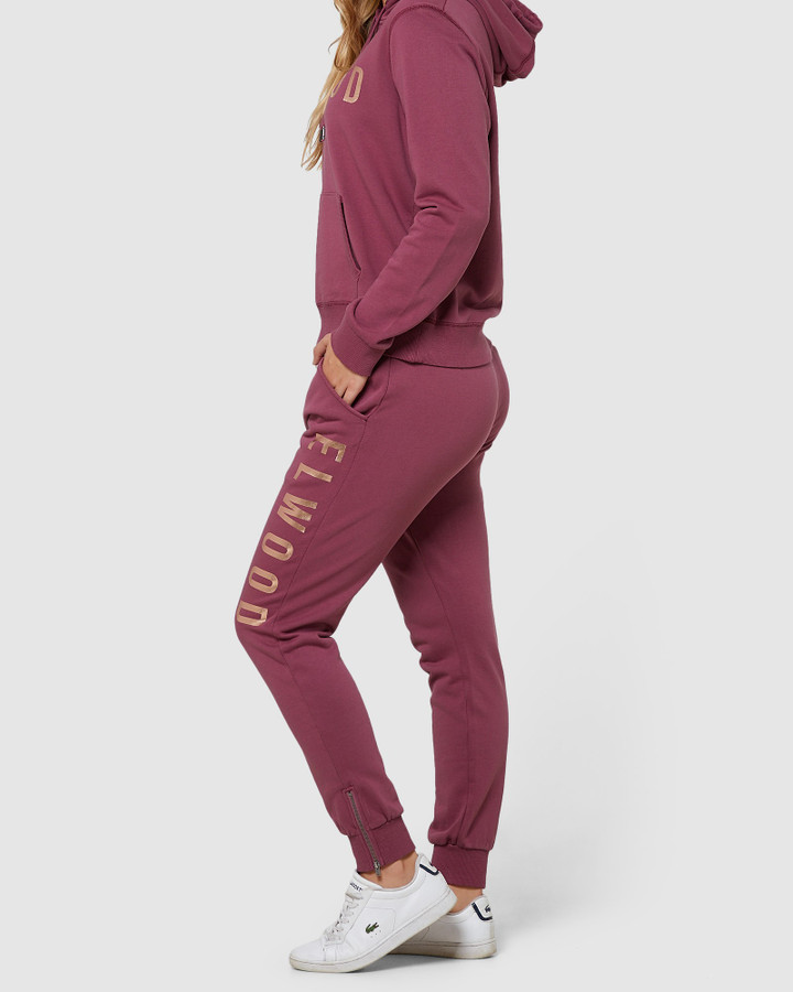 Elwood Huff N Puff Track Pants Mulberry