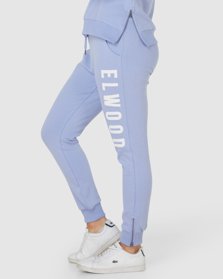 Elwood Huff N Puff Track Pants Lilac Silver