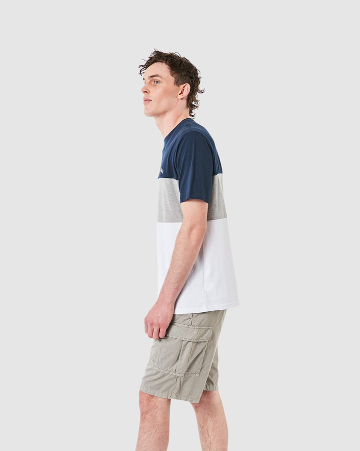 Elwood Hall Tee Dark Navy