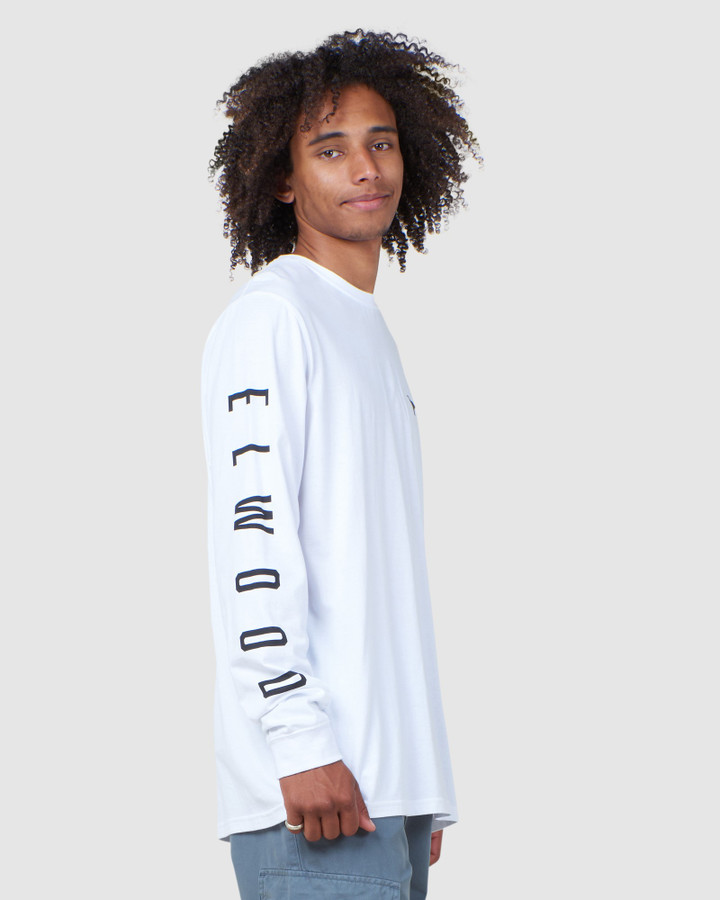 Elwood Edition Ls Tee White