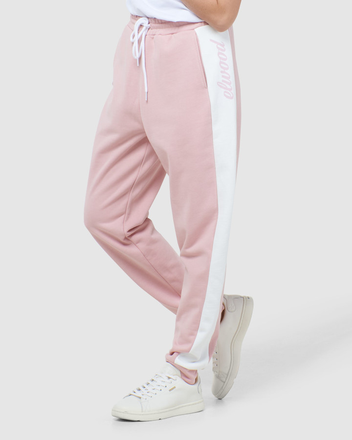 Elwood Brooke Trackpant Dusty Pink