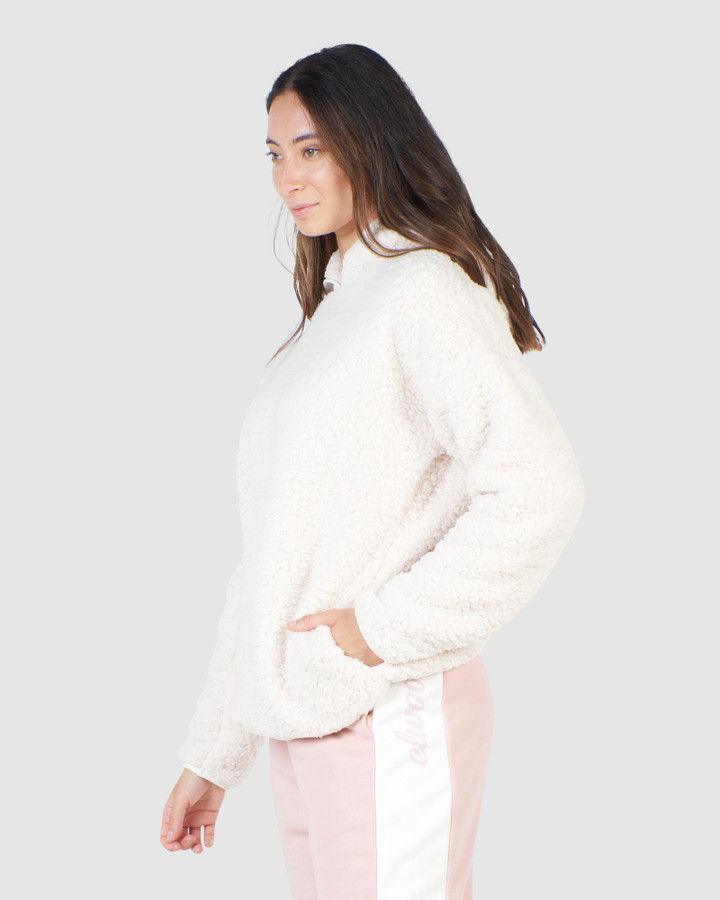 Elwood Hailey Hoody Chalk