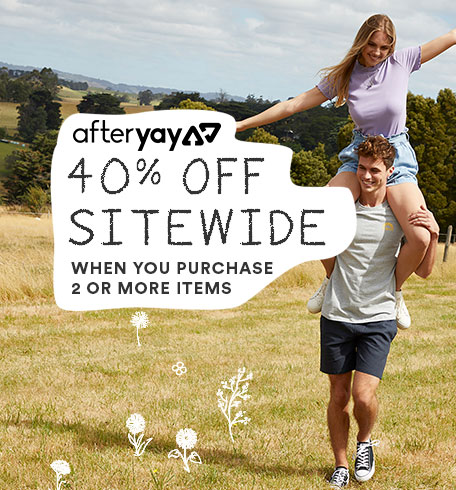 Afteryay sale - Buy 2 save 40%